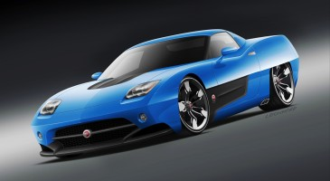 Blue Cars Wallpaper 1