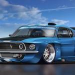 Blue Cars Wallpaper 3