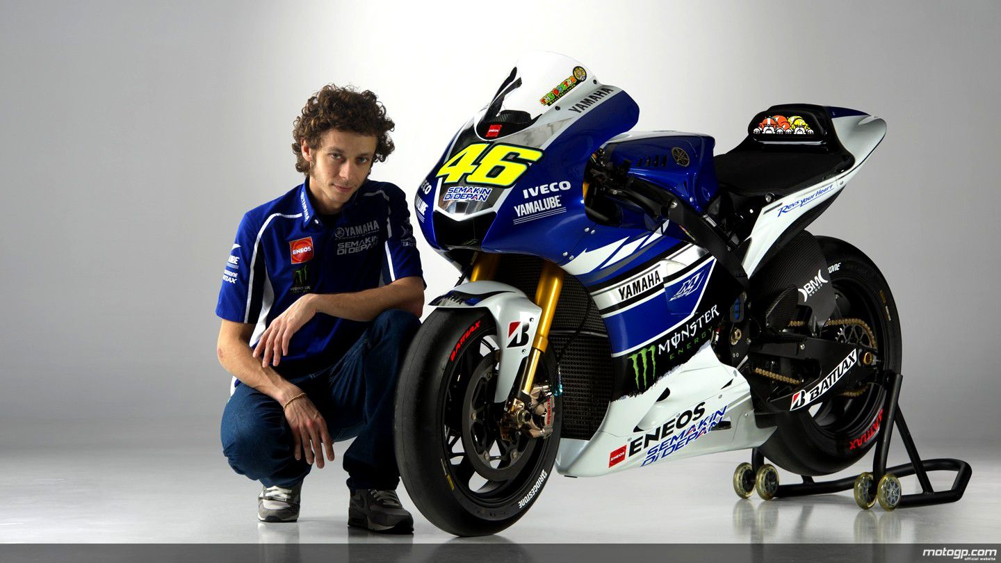 Valentino rossi yamaha blue wolpeper theme live demo size voltagebd Image collections